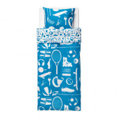TALANGFULL Duvet cover and pillowcase(s), blue - 002.725.62