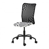 TORBJÖRN Swivel chair, black Kvarnatorp black - 502.247.57