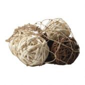 TORKA Decoration ball, set of 8, assorted models - 501.534.58