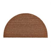TRAMPA Door mat, half-moon, natural - 002.852.15