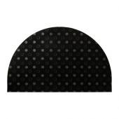 TVIS Door mat, half-moon, black - 202.393.07