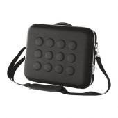 UPPTÄCKA Briefcase, dark gray - 602.364.58