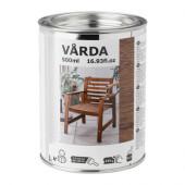 VÅRDA Wood stain, outdoor use, brown - 803.034.18