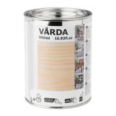 VÅRDA Wood stain, outdoor use, colorless - 603.034.19