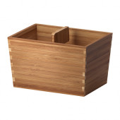 VARIERA Box with handle, bamboo - 902.260.52