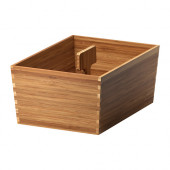 VARIERA Box with handle, bamboo - 702.260.53