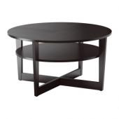 VEJMON Coffee table, black-brown - 601.366.80