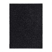 YDBY Door mat, black indoor/outdoor black - 102.305.62